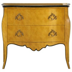 Baker Two-Drawer Hand Painted Bombay Chest of Drawers
