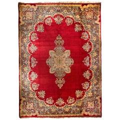 Bakhtiar Wool Rug, circa 1950
