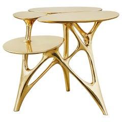 Balance Lotus Side Table and Lotus Coffee Table