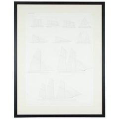 """Balance of Sail"" Print by Day & Son, Lithographers to the Queen, Dated 1864"
