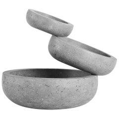 Balancing Stone Sculptural Bowl from the Balance Collection by Joel Escalona