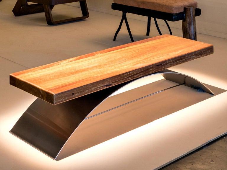 Balanço Bench by Rodrigo Ohtake, Brazilian Contemporary Design In Excellent Condition For Sale In Sao Paulo, SP