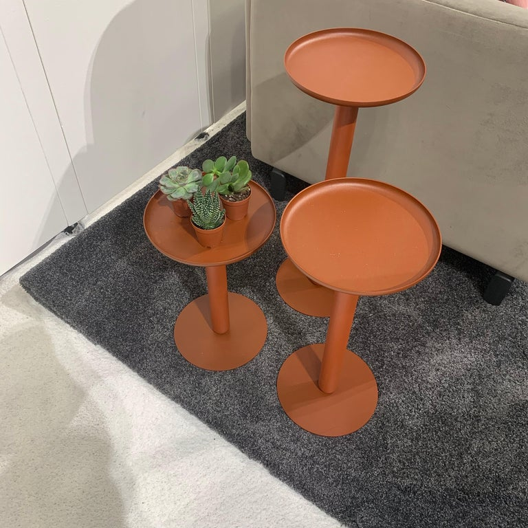 Artifort Set of Three Balans Mini Tables In Excellent Condition For Sale In New York, NY