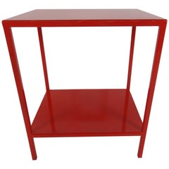 Baldwin Side Table, Red