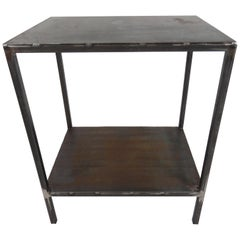 Baldwin Side Table, Steel