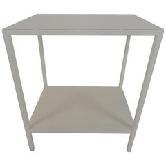 Baldwin Side Table, White
