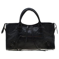 Balenciaga Anthracite Leather RH Part Time Tote