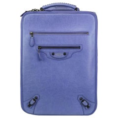 Balenciaga Arena Wheeled Suitcase Rolling Carry-on Luggage Trolley Leather Bag