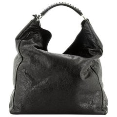 Balenciaga  B. Hobo Leather Large