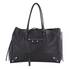 Balenciaga B4 Zip Around Tote Leather