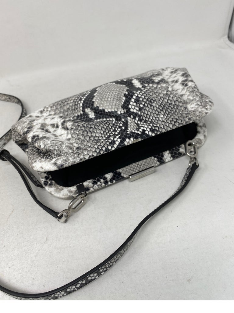 Balenciaga Black and White Crossbody Bag  For Sale 12