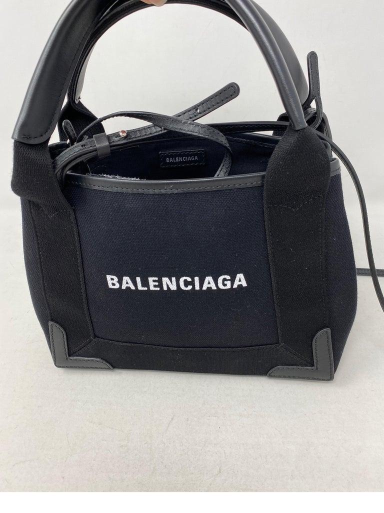 Women's or Men's Balenciaga Black Canvas Cotton Bag  For Sale