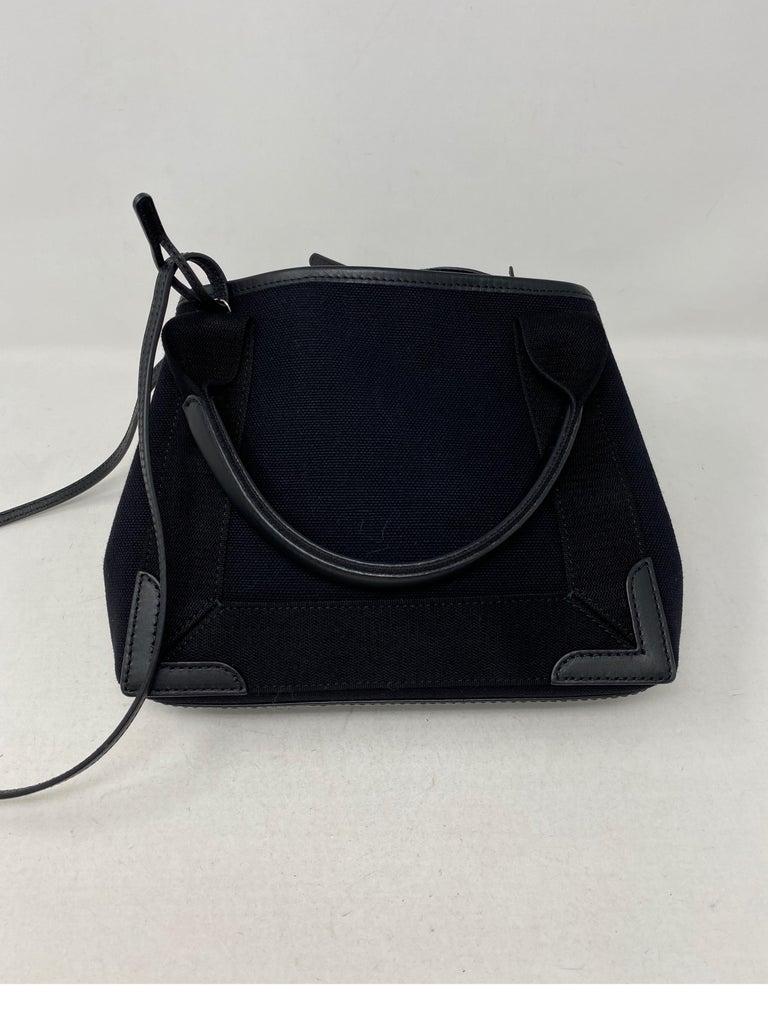Balenciaga Black Canvas Cotton Bag  For Sale 2