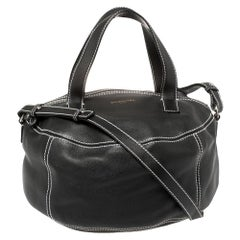 Balenciaga Black Leather Air Hobo
