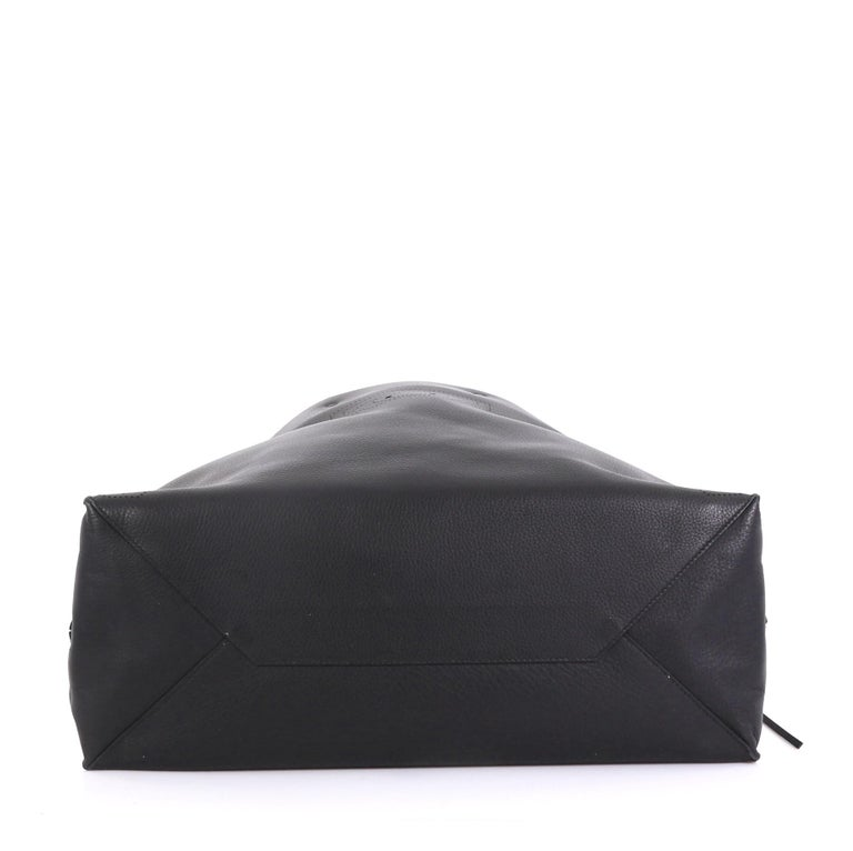 Balenciaga Blackout A4 Zip Around Tote Leather Large 1