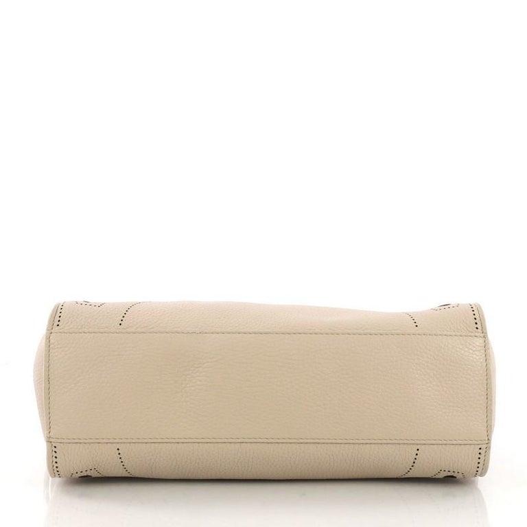 2184615720d Women's or Men's Balenciaga Blackout City AJ Handbag Leather Small For Sale