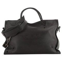 Balenciaga Blackout City Bag Leather Medium