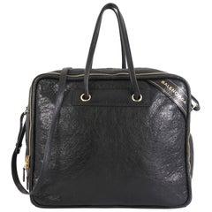 Balenciaga Blanket Square Bag Leather Large