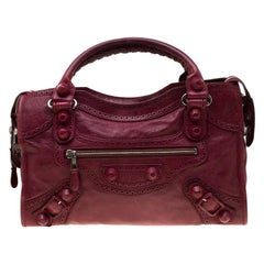 Balenciaga Blood Leather Brogues GCH Part Time Tote