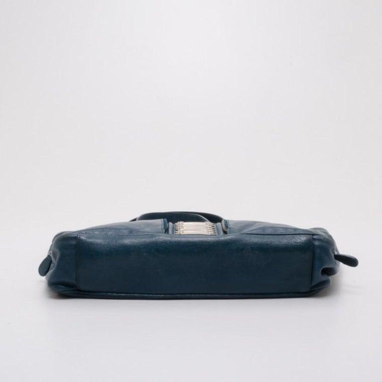 Women's Balenciaga Blue Lambskin Sac Clous For Sale
