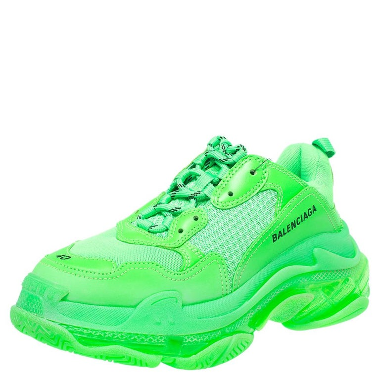 The Triple S by Balenciaga was first seen in January of 2017, but it dropped only in September of the same year. Once it launched, the shoes shook the sneaker scene and started the