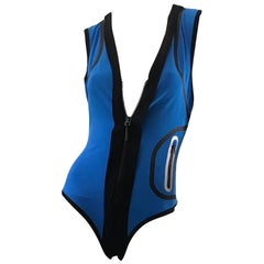 Balenciaga by Nicholas Ghesquiere bodysuit with zipper
