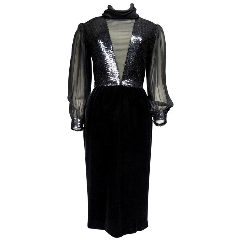 Balenciaga by Nicolas Ghesquière Little black dress, Circa 1995  For Sale