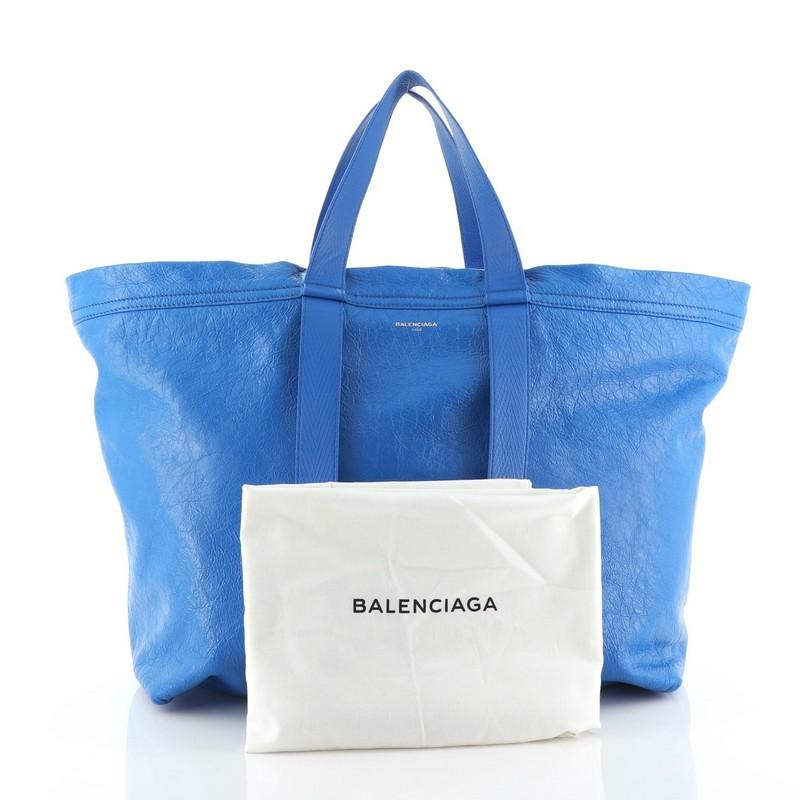 Balenciaga Carry Shopper Tote Leather