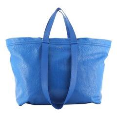 Balenciaga Carry Shopper Tote Leather Large