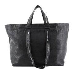 Balenciaga Carry Shopper Tote Leather Medium