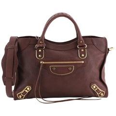 Balenciaga City Classic Metallic Edge Bag Leather Medium