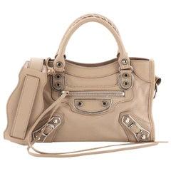 Balenciaga City Classic Metallic Edge Bag Leather Mini