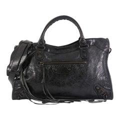 Balenciaga City Classic Studs Bag Leather Medium