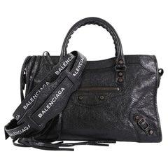 Balenciaga City Classic Studs Bag Leather Small,