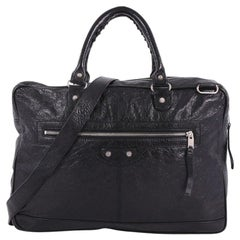 Balenciaga Classic Studs Briefcase Leather