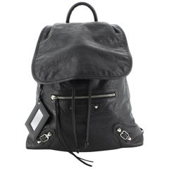 Balenciaga Classic Traveler Backpack Leather Extra Small