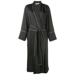 Balenciaga Contrast Piping Robe Jacket