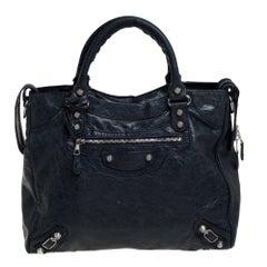 Balenciaga Dark Knight Leather RH Velo Bag