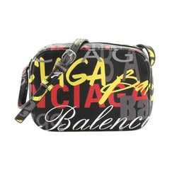 Balenciaga Everyday Crossbody Bag Printed Leather XS