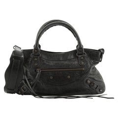 Balenciaga First Classic Studs Bag Leather