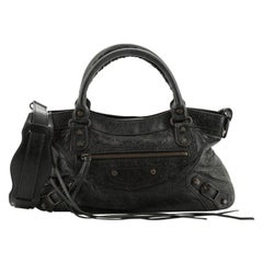 Balenciaga First Classic Studs Bag Leather