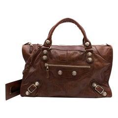 Balenciaga Giant 12 Gold City XL Bag in Brown 45cm