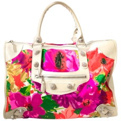 Balenciaga Giant 21 Flower Weekender Bag