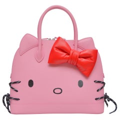 Balenciaga HELLO KITTY Baby Pink Large SZ Ville Handbag With NEW With Tags