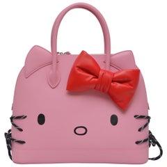 Balenciaga HELLO KITTY Baby Pink Medium Ville Handbag With NEW With Tags