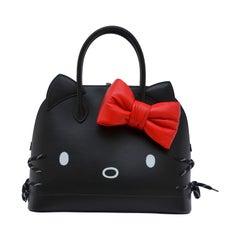 Balenciaga HELLO KITTY Black  Medium Ville Handbag With NEW With Tags