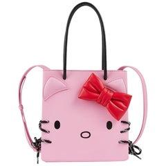 Balenciaga + Hello Kitty Printed Leather Crossbody Bag