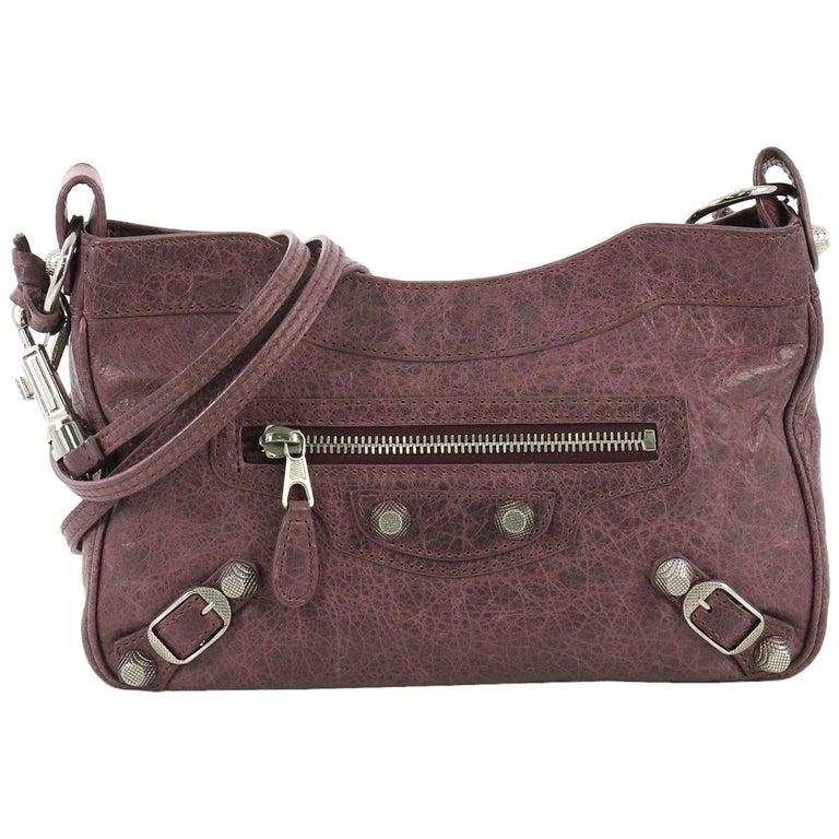 ad5f7ee5b Balenciaga Hip Giant Studs Crossbody Bag Leather For Sale at 1stdibs