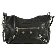 Balenciaga Hip Giant Studs Crossbody Bag Leather