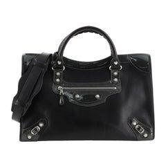 Balenciaga Holiday City Giant Studs Bag Matte Calfskin Medium